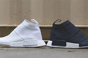 adidas NMD XR1 Primeknit Grey White BB2369
