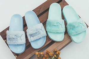 Fenty Fur Slide