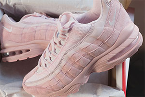info for 83f5a 0dfcc Air Max 95 Pink Suede - crepsource