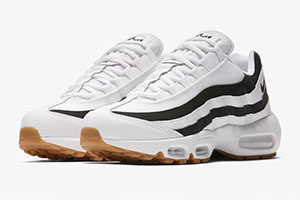 Nike Air Max 95 Black White Gum