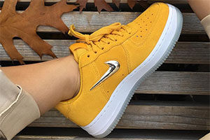 Nike Air Force 1 Yellow Ochre - crepsource