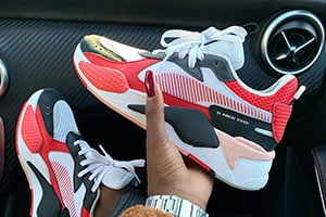 Puma Rs X Toys Black White Red Crepsource