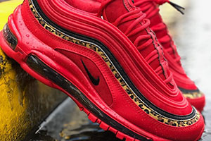 100% authentic 521d7 40eda Nike Air Max 97 Red Leopard