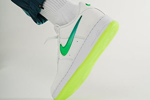 Air Force 1 Jelly Swoosh Green
