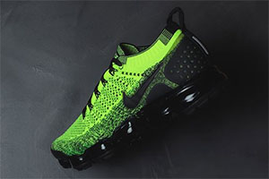 check out 172fd 8a366 Nike Vapormax Flyknit 2 Volt/Black - crepsource