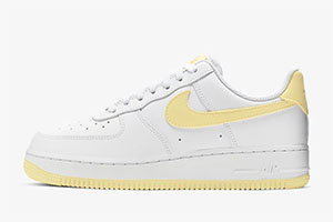 Nike Air Force 1 Bicycle Yellow crepsource