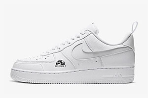 Nike Air Force 1 Utility White Reflective crepsource