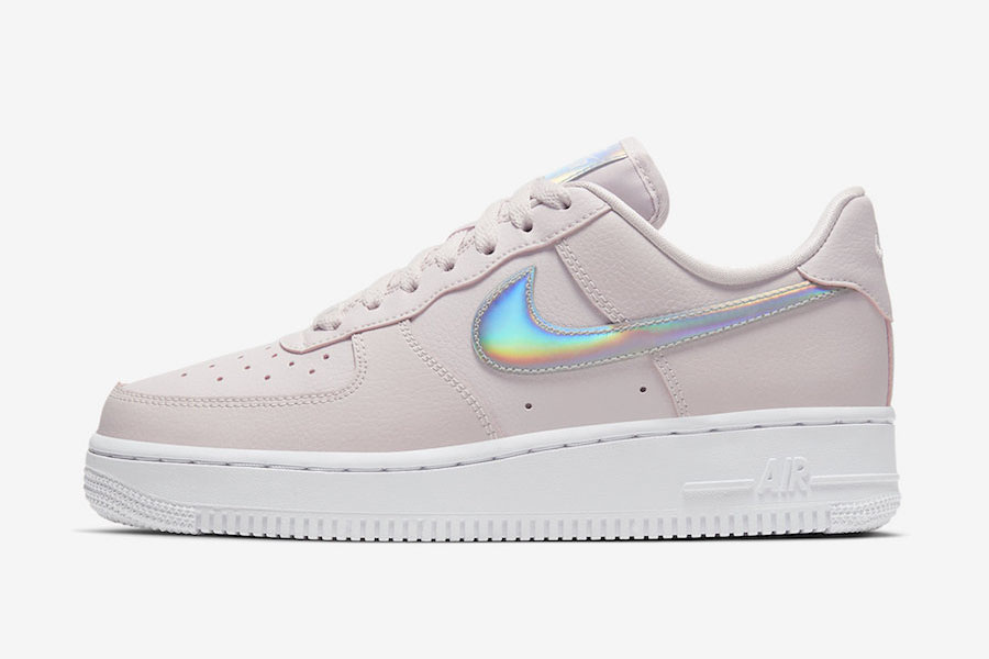 Nike Air Force 1 Iridescent Barely Rose