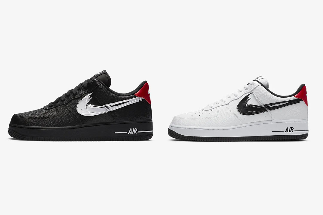 Nike Air Force 1 Paint Swoosh