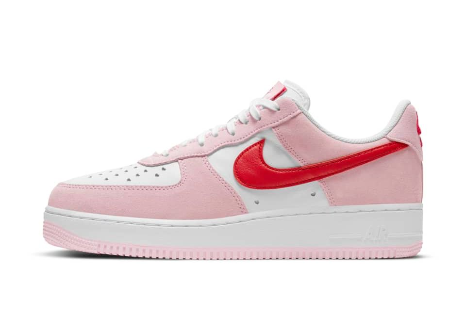 image of Nike Air Force 1 '07 Tulip Pink/White/Pink Foam/University Red