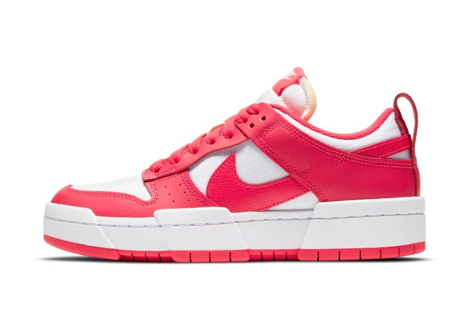 image of Nike Dunk Low Disrupt Siren Red/White/Siren Red