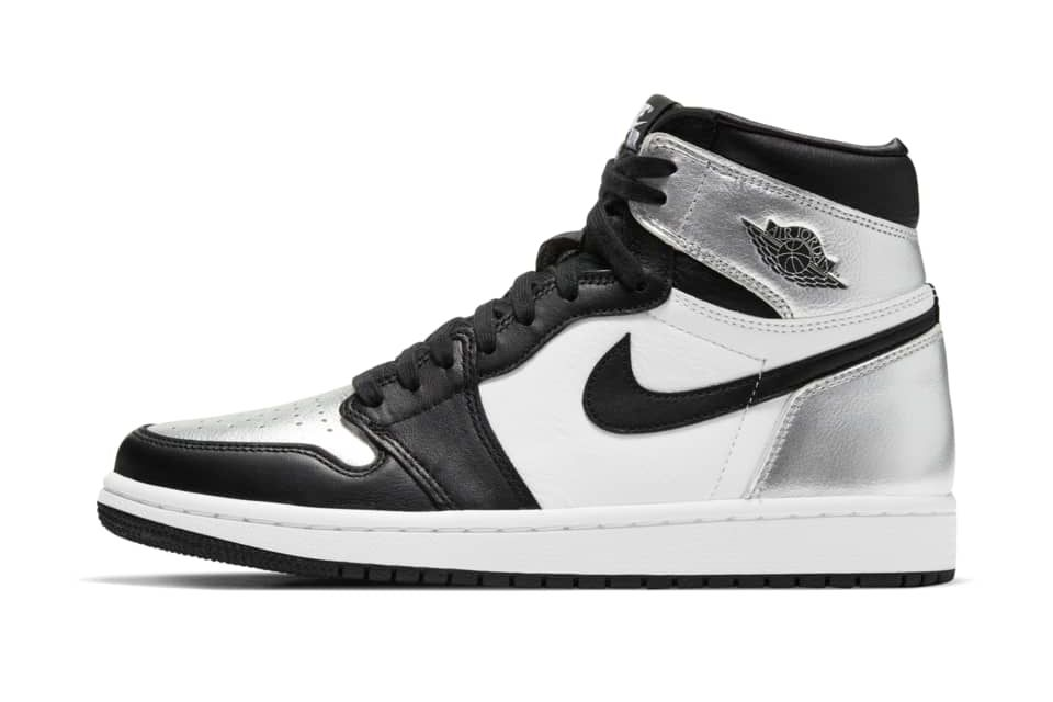 image of Jordan 1 High OG Black/Metallic Silver/White/Black