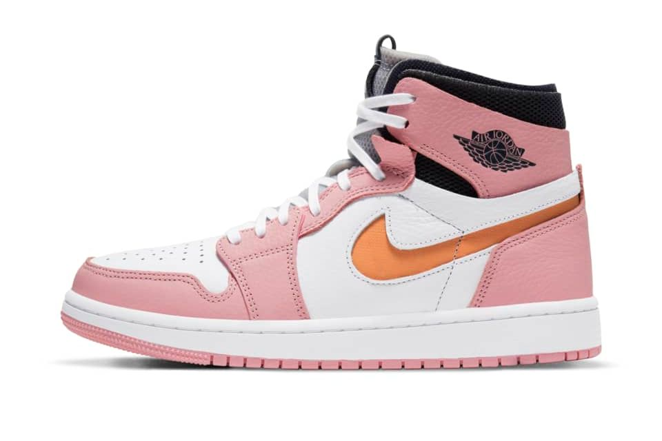 image of Air Jordan 1 Zoom Air Comfort Pink Glaze/White/Sail/Cactus Flower