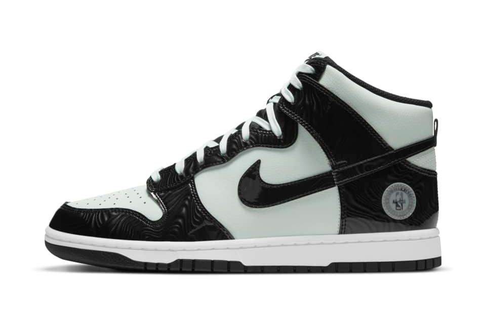 image of Nike Dunk High All-Star Barely Green/Barely Green/White/Black