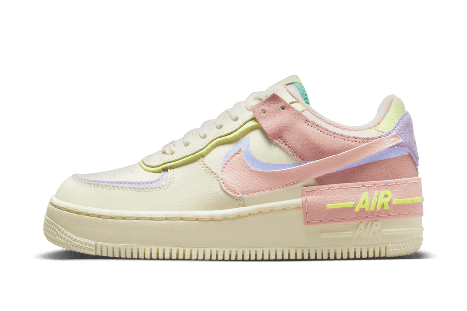 image of Nike Air Force 1 Shadow Cashmere/Pure Violet/Pink Oxford/Pale Coral