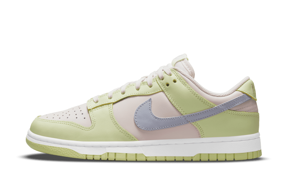 Nike Dunk Low Light Soft Pink/Lime Ice/White/Ghost